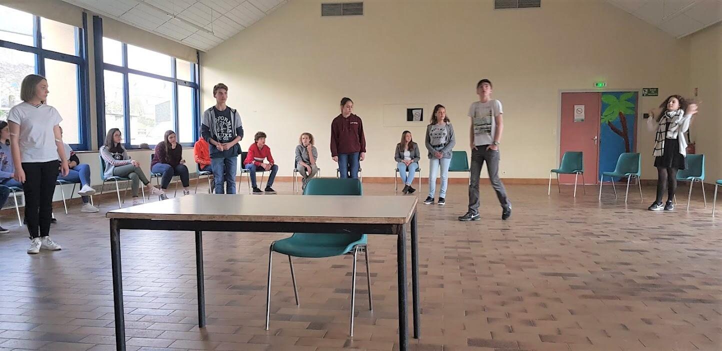 Théâtre au collège de Montsauche-les-Settons