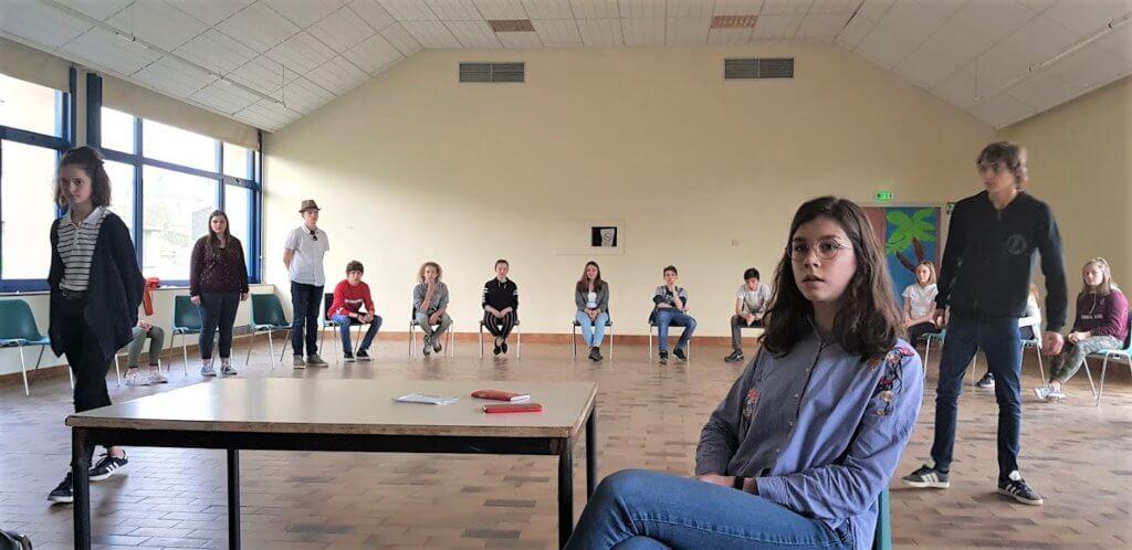 TdE -théâtre au collège - passions enfouies Montsauche Marianne