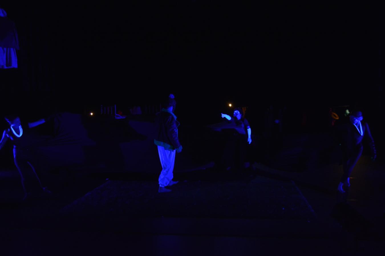 L'oiseau bleu - La Nuit